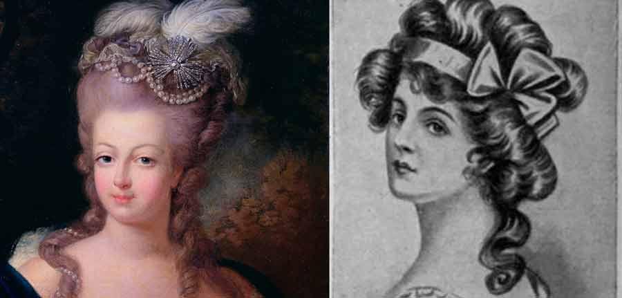 Más cautivador peinados del renacimiento Fotos de cortes de pelo estilo - Historia de la Peluquería